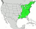 Fagus grandifolia map.png