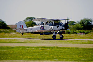 Fairey Swordfish Torpedo Bomber at Shoreham 1 (9843129164).jpg