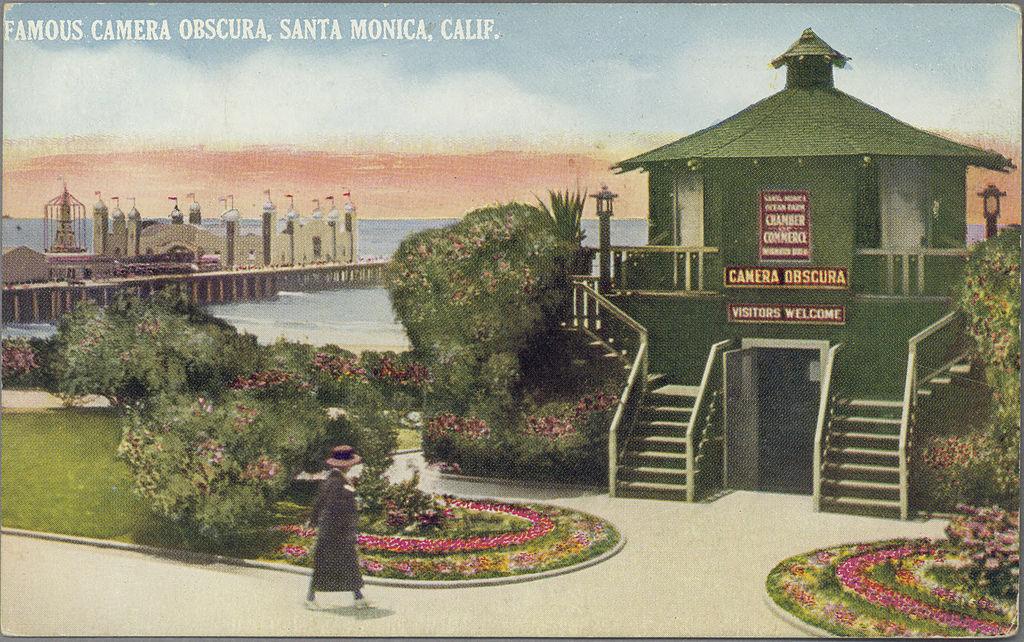 File Famous Camera Obscura Santa Monica Calif Pcard