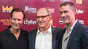 Bone Tomahawk - Patrick Wilson, Richard Jenkins and Matthew Fox at 2015 Fantastic Fest
