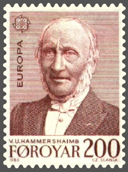 Faroe stamp 048 europe (v u hammershaimb)