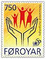 Faroe stamp 332 human rights.jpg