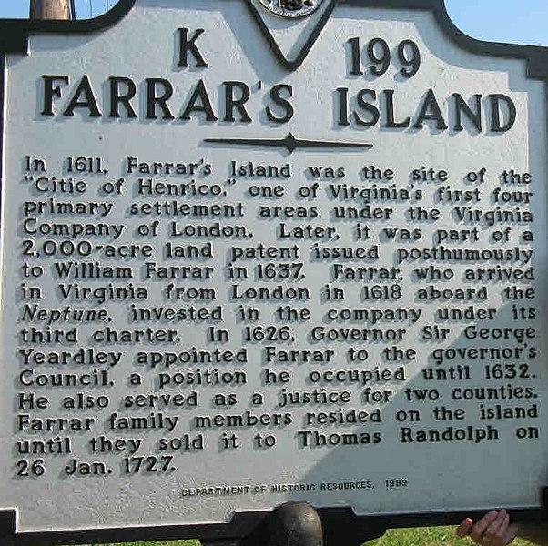 File:Farrar's Island Marker.jpg