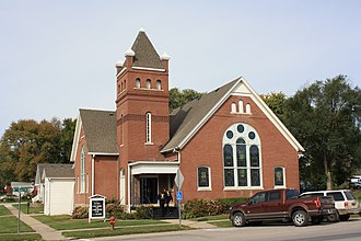 Hamilton, Missouri - Image: Federated Church