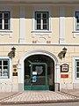 Feldkirchen Villacher Strasse 11 Gasthof Seitner Korbbogenportal 28062016 2932.jpg