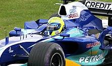 Felipe Massa a Sauberrel 2005-ben