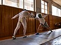 Fencing in Greece. Epee. Athenaikos Fencing Club. Alexandros Kanellis.jpg