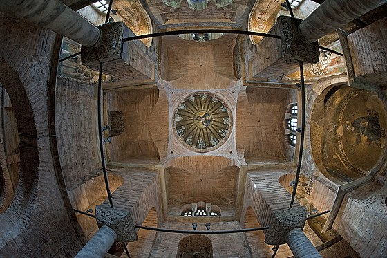 Dome of the Pammakaristos Church, Istanbul