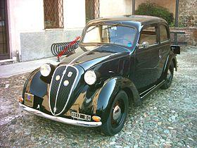 FIAT 1100 محصول سال:1937