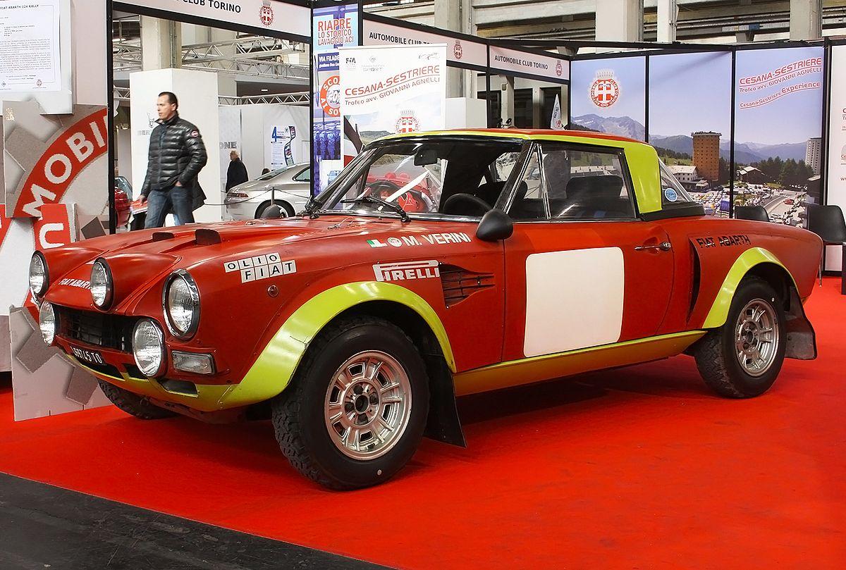 Fiat 124 Abarth Wikip 233 Dia