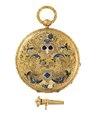Fickur med boett av guld och emalj, 1840-tal - Hallwylska museet - 110600.tif
