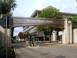 Babelsberg Studio - Entrance to the Babelsberg Studios