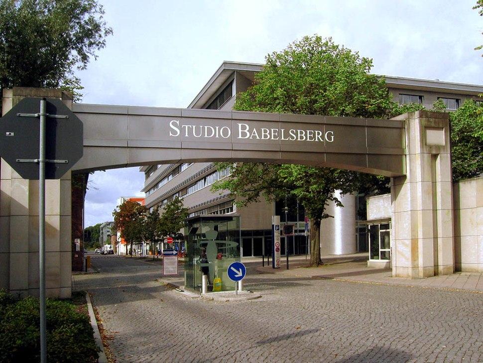 Filmstudio Babelsberg Eingang