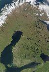 芬兰卫星照片