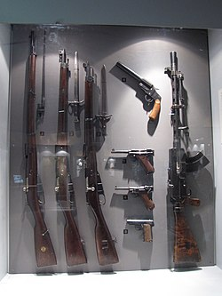 Finnish army WWII weapons.JPG