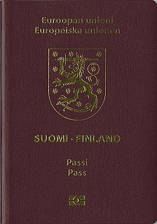 Finnish passport passport