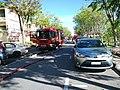 Firetruck during Sibu hospital fire incident.jpg