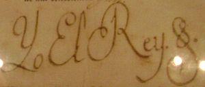 Charles IV of Spain - Image: Firma Carlos IV