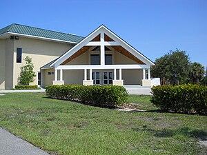Jensen Beach, Florida - First Baptist Church, Jensen Beach