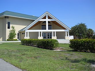 Jensen Beach, Florida - First Baptist Church, Jensen Beach