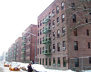 First Houses Public housing development in Manhattan, New York