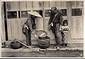 Fish pedlar in Japan - Fish in a Basket (1915 by Elstner Hilton).jpg