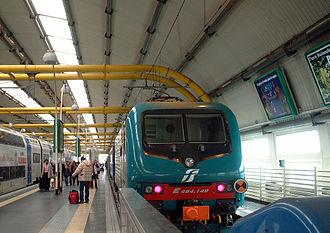 Rome–Fiumicino railway - Fiumicino Airport station