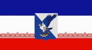 Volzhsk - Image: Flag of Volzhsk (Mariy El)