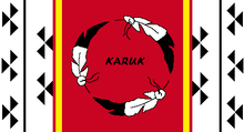Flag of the Karuk Tribe of California.PNG