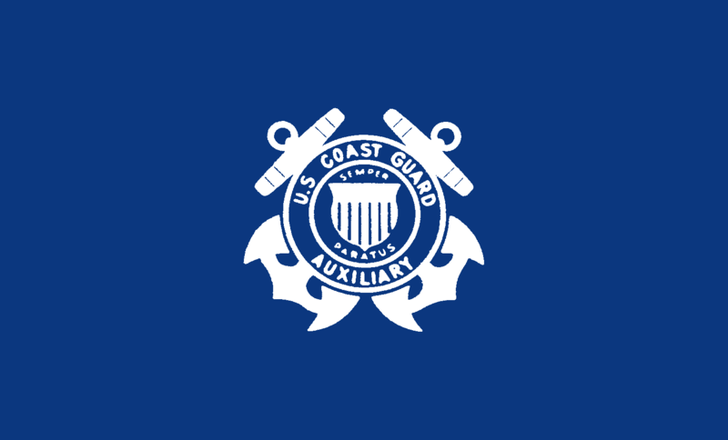 Description flag of the united states coast guard auxiliary 1940
