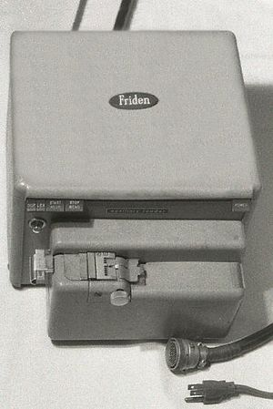 Friden Flexowriter - Friden auxiliary paper-tape reader for six-level paper tape