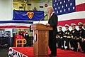 Flickr - Official U.S. Navy Imagery - Fmr. President Clinton speaks at Sailor's retirement..jpg