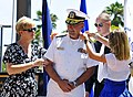 Flickr - Official U.S. Navy Imagery - Navy Medicine West receives new shoulder boards..jpg