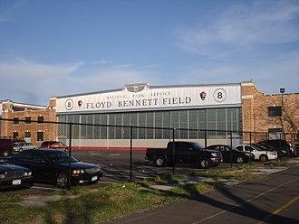 Floyd Bennett Field - One of the original hangars