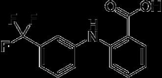 Flufenamic acid - Image: Flufenamic acid