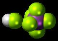 Fluoroantimonic acid 3D spacefill.png