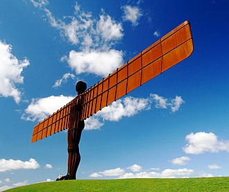 Antony Gormley - Angel of the North in Gateshead