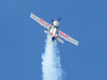Flying Bulls Aerobatics Team during an Air Sho...