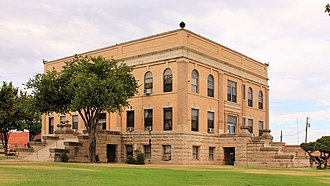 Foard County, Texas - Image: Foard County Texas Courthouse 2015