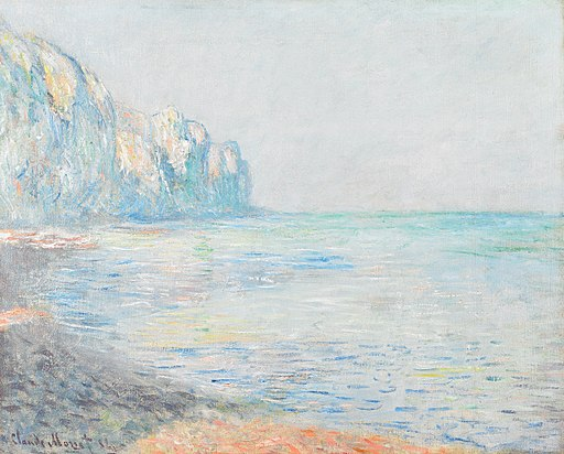 Foggy Morning at Pourville - Claude Monet