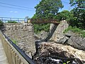 Footbridge at Bad Little Falls, Machias, Maine image 3.jpg