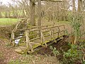 Footbridge in High Copse - geograph.org.uk - 1774942.jpg