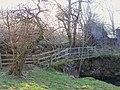 Footbridge over Wellhope Burn - geograph.org.uk - 704831.jpg