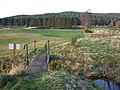 Footbridge over a stream on Aboyne golf course - geograph.org.uk - 619320.jpg
