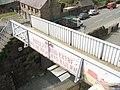Footbridge over the Welsh Highland Railway - geograph.org.uk - 772664.jpg