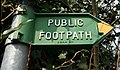 Footpath Sign - geograph.org.uk - 376542.jpg