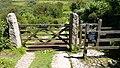 Footpath gate through Trevail Mill. (Treveal side). - panoramio.jpg
