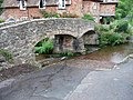 Ford and packhorse bridge, Allerford - geograph.org.uk - 1710449.jpg