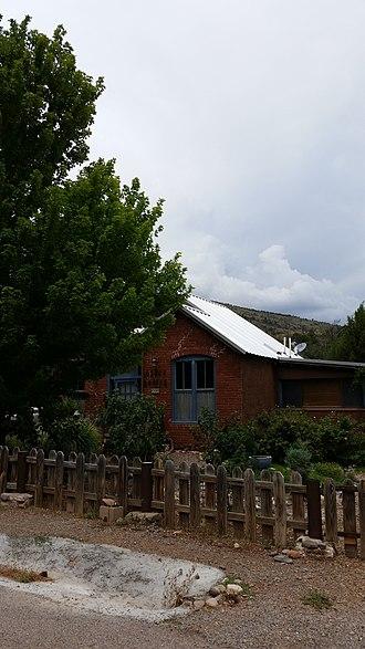 Kingston, New Mexico - Image: Former Assay Office, Kingston, NM