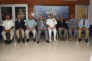 Laxminarayan Ramdas - Ramdas, 3rd from right